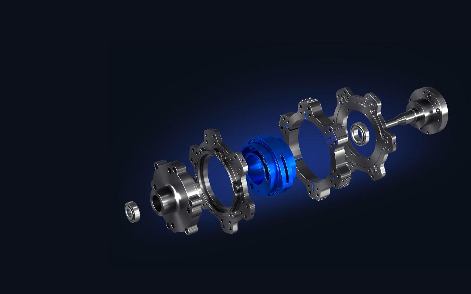 preload in wheel motor